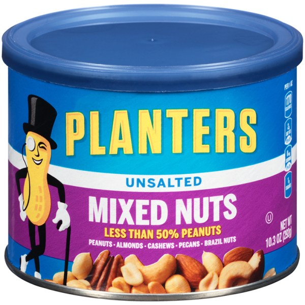 PLANTERS MIXED NUTS Unsalted 103oz Sunac