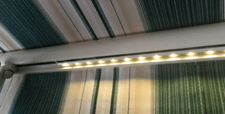 dimmable led awning lighting
