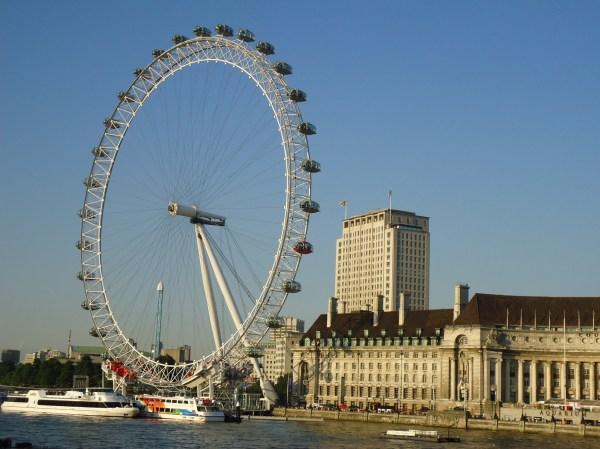 Famous London Eye Jeffreys Gurol Olympics