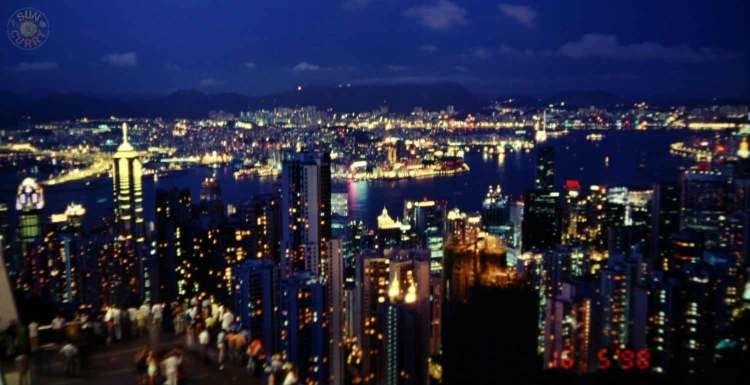 Blick auf Hongkong vom Peak