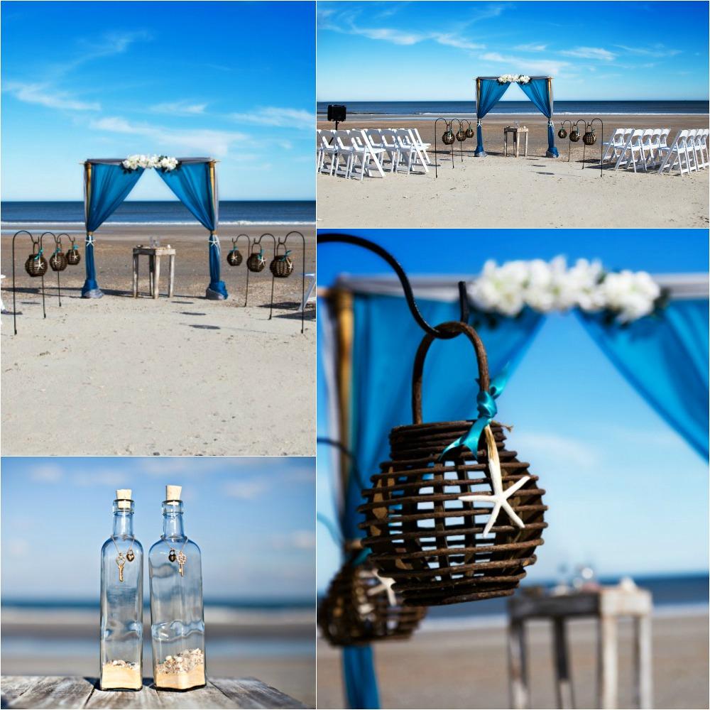 2 Post Bamboo Arbor Sun Amp Sea Beach WeddingsSun Amp Sea