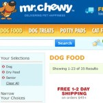 Mr. Chewy delivers pet happiness and donates for the cause