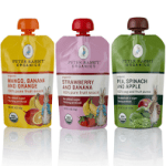 An organic, healthier snack option for kids, adults