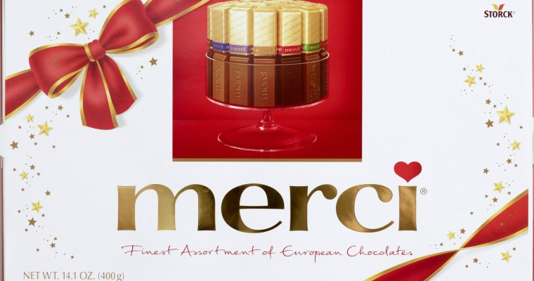 Merci Chocolate perfect for last minute #ValentinesDay gift #review