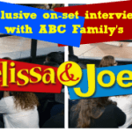 Exclusive Interviews With ABC Family's Melissa & Joey #ABCFamilyEvent