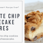 Pillsbury Chocolate Chip Cheesecake Squares Recipe