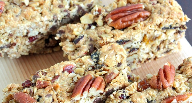 Oatmeal Cookie Fruit And Nut Bars Recipe