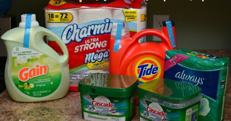 Stock Up And Save On Household Items From Walmart