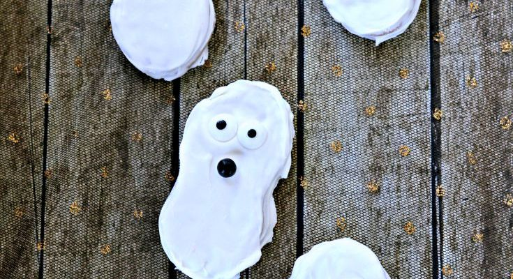 Easy Halloween Ghost Cookies Your Kids Will Love To Make