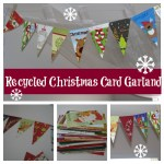 Don't throw away those Christmas cards, craft with them!