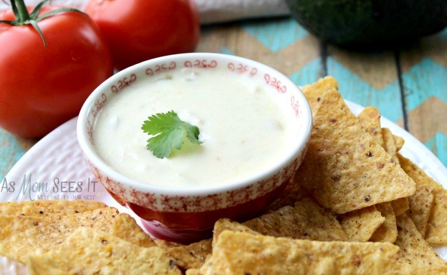 Slow Cooker Queso Blanco Party Dip Recipe