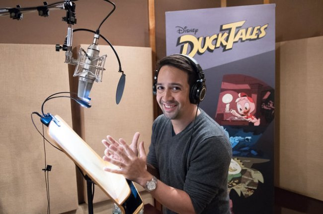 Lin-Manuel Miranda joins the cast of Duck Tales in May