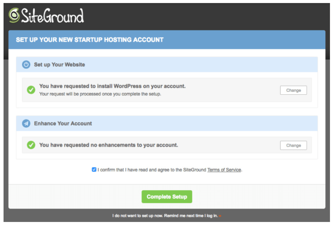 How to set up your new SiteGround hosted WordPress blog