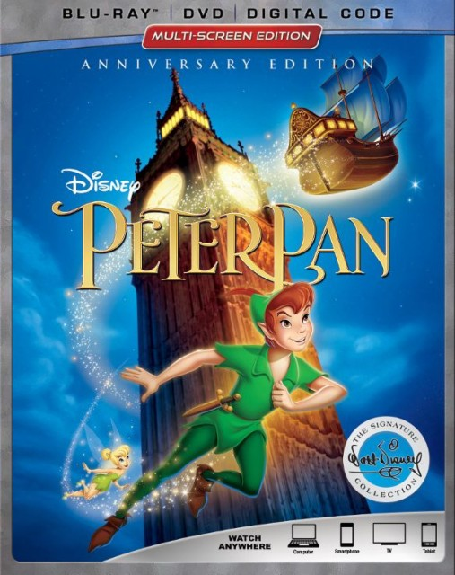 Peter Pan Anniversary Edition Blu-ray