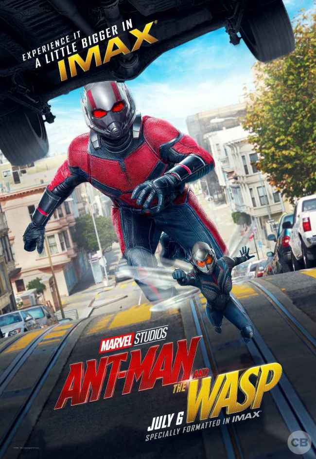 Marvel unveils new IMAX poster for Ant-Man and the Wasp