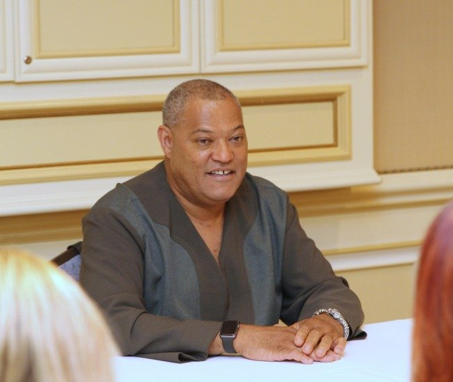 Laurence Fishburne talks about what he'd like to see in a Marvel movie
