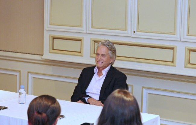 Interview with Michael Douglas