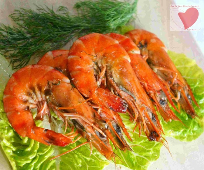 Prawns & Dill recipe with 7 ingredients or less