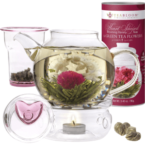 Teabloom Eternal Love Flowering Tea Gift Set