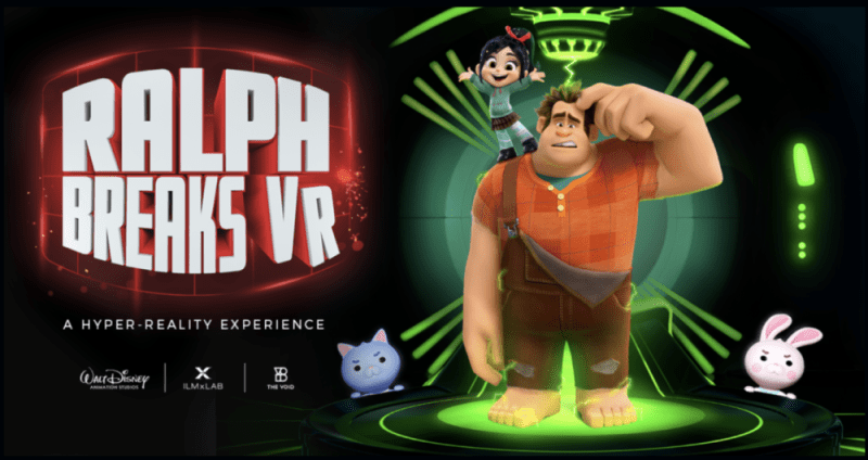 Ralph Breaks the Internet VR experience
