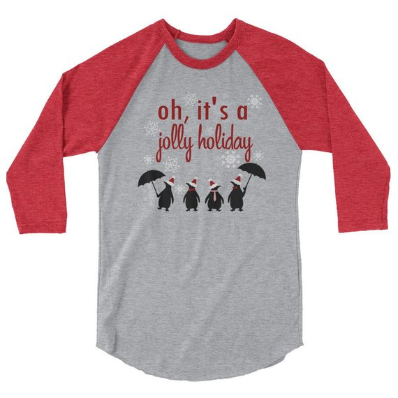 Mary Poppins raglan t
