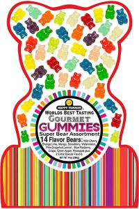 Happy Yummies World's Best Tasting Gummie Bears