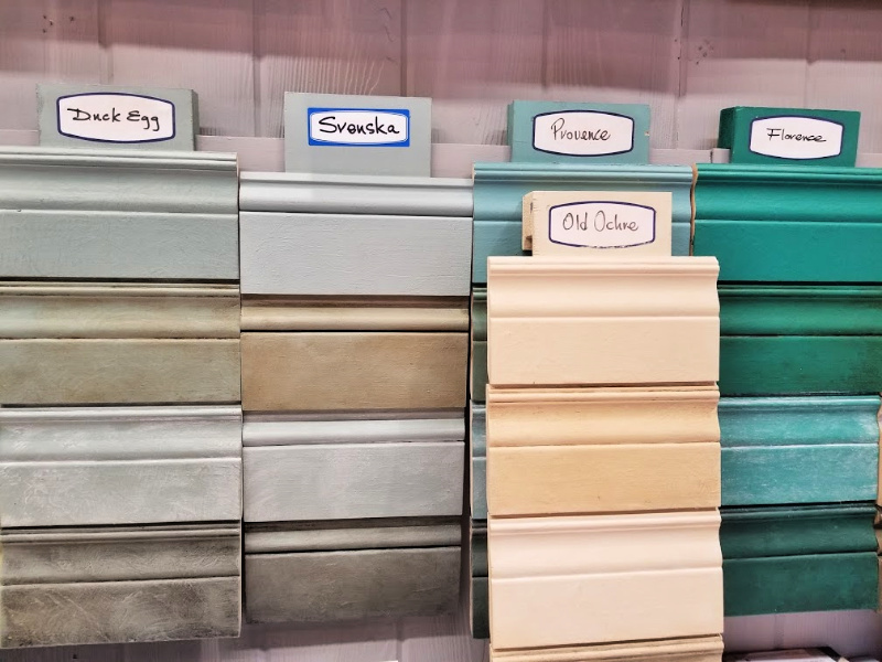 Annie Sloan Chalk Paint colors I was deciding between