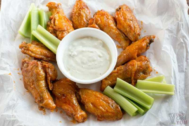 A healthier option for your Super Bowl snacks are these easy air fryer chicken wings