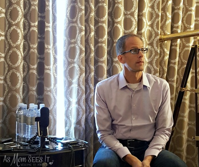 Director of Pixar's Inside Out, Pete Docter