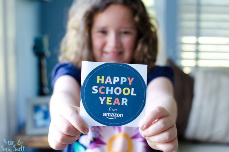 Happy School Year from Amazon! It's back to school time.