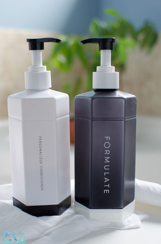 Get shampoo and conditioner customize for your hair goals from Formulate.