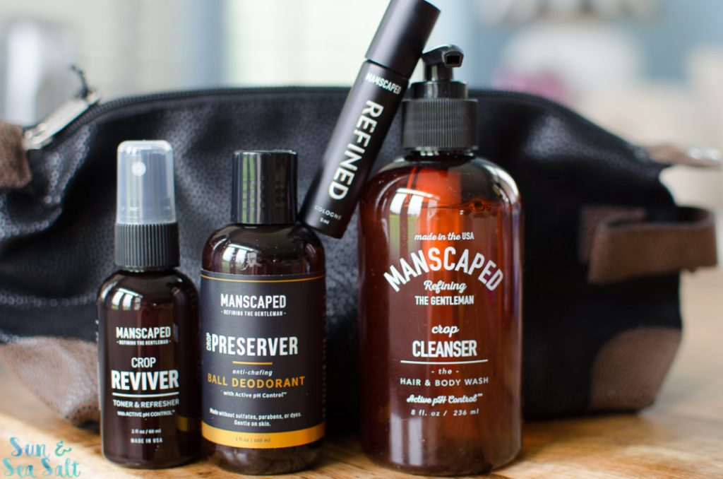 Manscaped grooming products for men