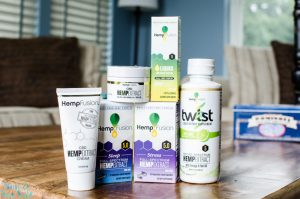 HempFusion CBD oil and products