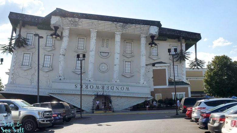 WonderWorks in Pigeon Forge, TN, is known as the Upside Down building.