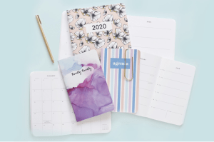 Custom personalized notebooks, planners, agendas, stationery, and gifts from May Designs