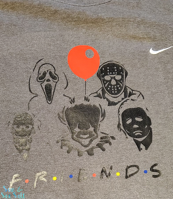 Friends Halloween Shirt