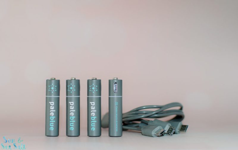 Pale Blue Rechargeable Batteries review