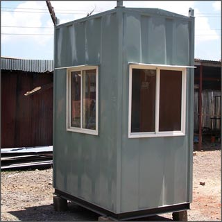 Sunbeam Portable Cabins  PVCFRP Cabins  Security Cabins