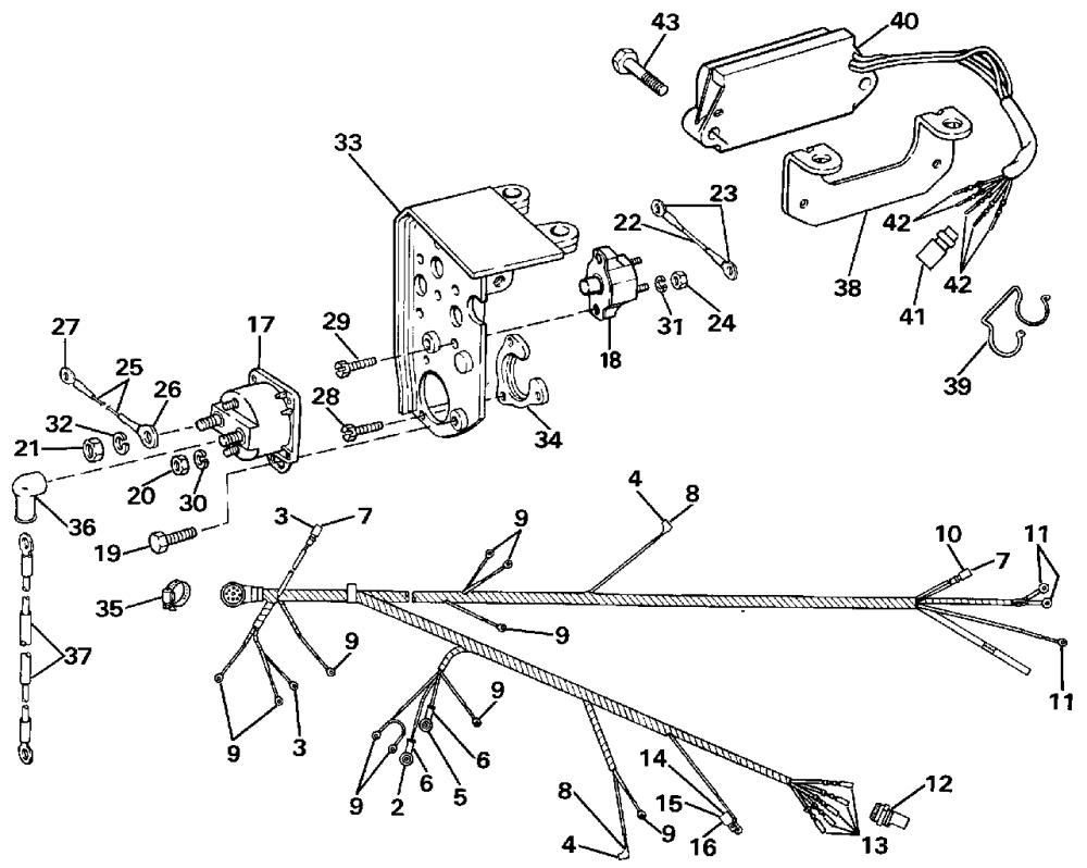 medium resolution of sunbirdcorsair 1992sunbirdcorsair gmail com omc shifter control diagram omc remote control parts diagram