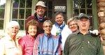 SunBird Hiking Club members (left to right) Flora Stanley, Doreen Liske, Gordon Hagg, Mary Hicks, Mary Lou Giles, Karen Snowden and Don Jones.