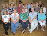Dancers who attended the Sunday, March 1 line dance at SunBird.