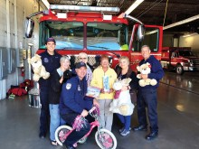 SunBird's Kare Bears delivered toys to be distributed to Chandler area children.