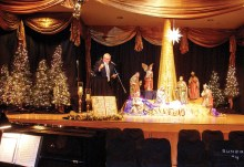 The SunBird Church was beautifully decorated for the Christmas season!