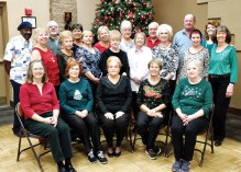 Our line dancing group in December.