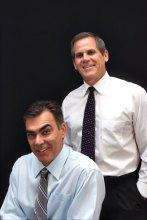 Dr. Kent Saba and Dr. Robert Romanin