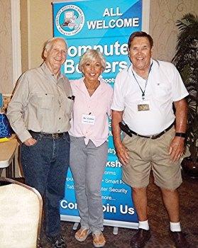 Board Members Howard Winkle, Kc Coller and Al Hill
