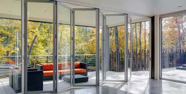 folding doors by sunboss room