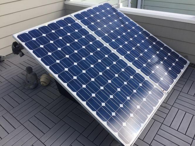 1800w Apartment Balcony Solar 2400wh