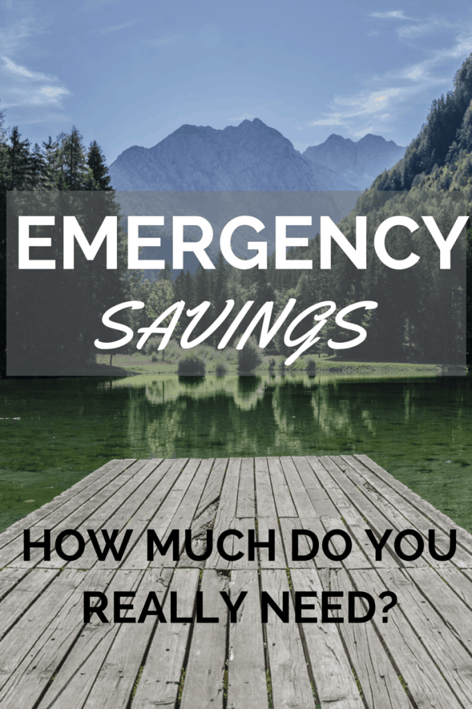 How much emergency savings do you really need - 3, 6, 9 months? Find out here! via @sunburntsaver
