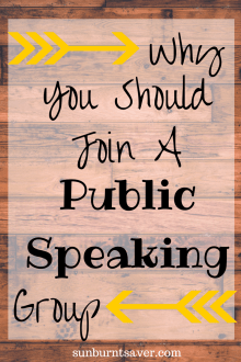 Top 3 Reasons You Should Join a Public Speaking Group